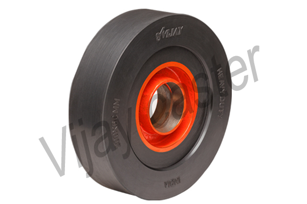 Rubber Trolley Wheel, Rubber Trolley Wheels India