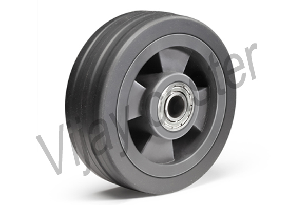 Rubber Trolley Wheels Supplier in India